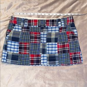 American Eagle Patchwork Mini Skirt      Size 10.